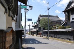 画像:御陣屋前通り南部