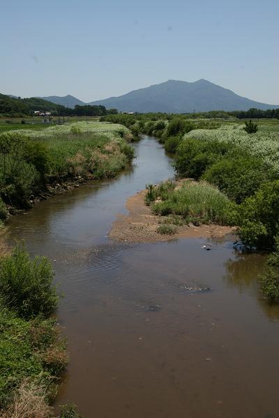 『大和橋から筑波山』の画像