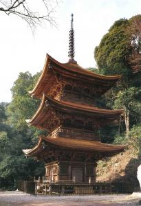 『小山寺三重塔』の画像