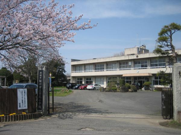『H28紫尾小学校正面入口』の画像