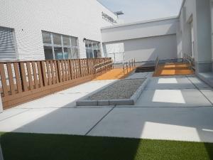 『屋外リハ施工』の画像