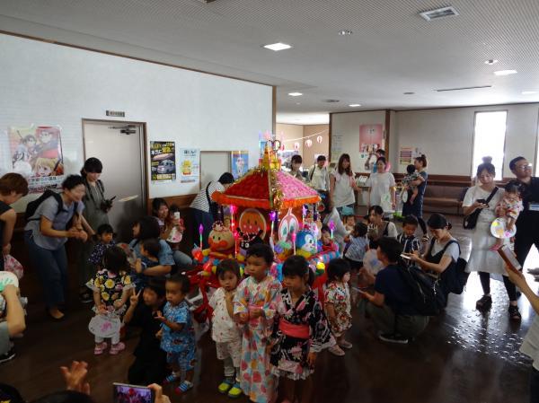 『岩瀬支援センター夏祭り(1)』の画像