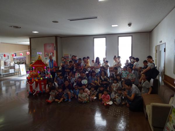 『岩瀬支援センター夏祭り(2)』の画像