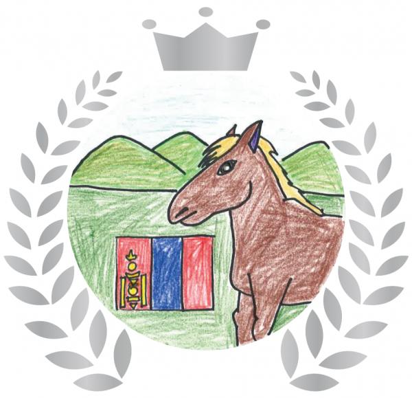 『ホストタウン缶バッジ(モンゴル)』の画像