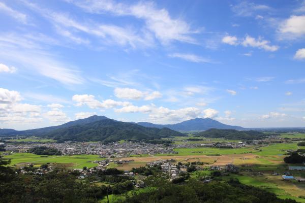 『富谷山から見た筑波山』の画像
