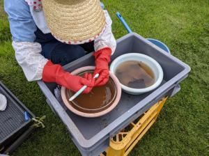 『6-7土器洗い』の画像