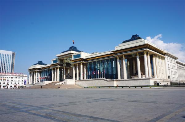 『ウランバートル市スフバートル広場』の画像