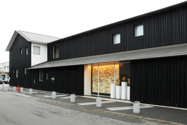 真壁伝承館歴史資料館の外観